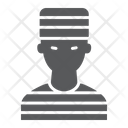 Prisoner Crime Law Icon
