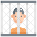 Prisoner Jail Law Icon