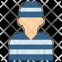Prisoner Prison Suspect Icon