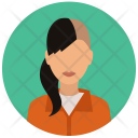 Inmate Woman Avatar Icon