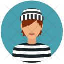Prisoner Woman Avatar Icon