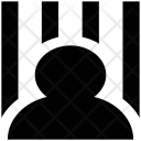 Inmate Detainee Jail Icon