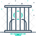 Prisoner Captive Jailbird Icon
