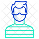 Prisoner Criminal Thief Icon