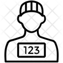 Prisoner Wanted Jailbird Icon