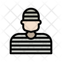 Prisoner Law Justice Icon