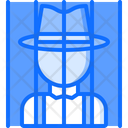 Jail Prisoner Bandit Icon