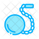 Prisoner Ball Chain Icon