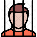 Prisoner Law Crime Icon