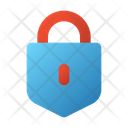 User Interface Privacy Lock Icon