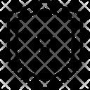 Privacy Shield Lock Icon
