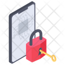 Privacy Protection Mobile Security Smartphone Lock Icon