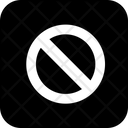 Privacy restriction Icon