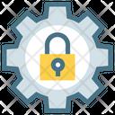 Security Streamline Gear Icon