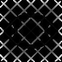 Private Privacy No View Icon