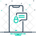 Private Secure Phone Icon