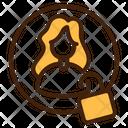 Private Lock User Icon