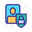 Personal Data Shield Icon