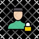 Private Account Lock Icon