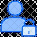 Private Account Lock Logout Icon