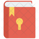Book Lock Secure Icon