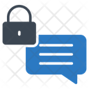 Private Lock Message Icon