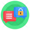 Secret Chat Private Chat Conversation Protection Icon