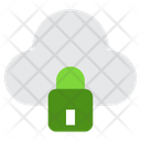 Private Cloud Lock Cloud Cloud Icon