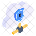 Personal Cloud Private Cloud Secure Cloud Icon