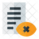 Private Data Icon