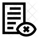 Private Data Data Protection Data Privacy Icon