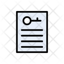 Key Document Protection Icon