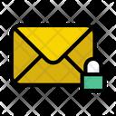 Private Email Inbox Lock Private Icon