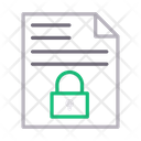 File Private Lock Icon