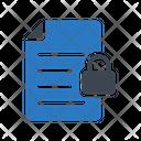 Private Lock File Icon