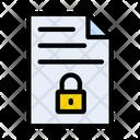 Private File Secure Icon