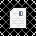 Key File Private Icon