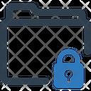 Folder Lock Private Icon