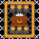 Private Funeral Funeral Coffin Icon