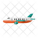 Private Jet Transport Icon
