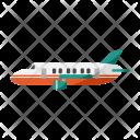 Private Jet Transportation Icon