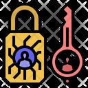 Privatekeycryptography Encryption Password Icon