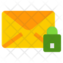 Private Message Lock Mail Message Icon