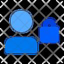 Private Profile Profile Lock User Lock Icon