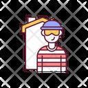 Criminal Crime Burglar Icon