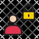 Private User Lock Icon