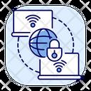 Private Wan Internet Icon