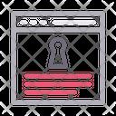 Private Internet Secure Icon