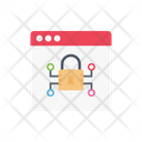 Private Lock Webpage Icon