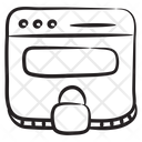 Private Website Privacy Security Icon